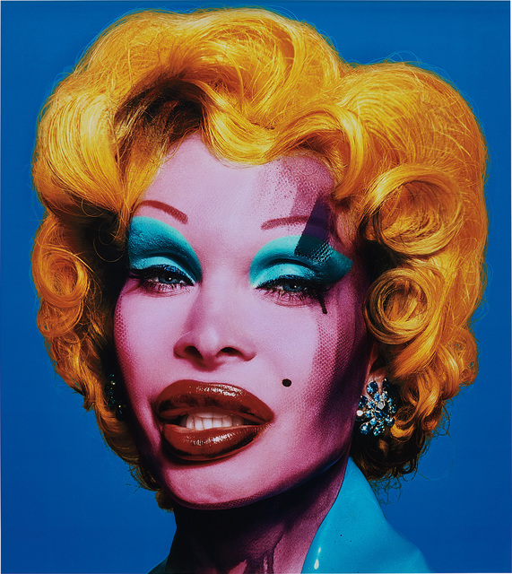 David LaChapelle, 'Amanda as Marilyn (blue)', 2007, Phillips