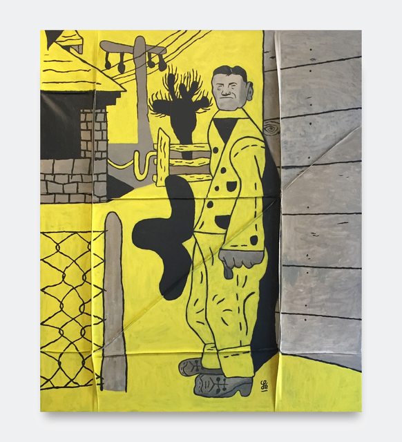 , 'James Castle (Yellow Version),' 2018, V1 Gallery