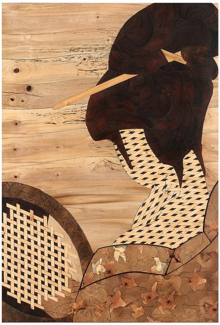 Matthew Scheatzle, 'YouTomorrow', 2018, Mixed Media, Wood, resin, Dolby Chadwick Gallery