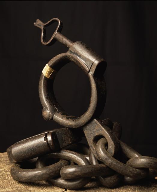 Andres Serrano, 'Iron shackle, (Torture)', 2015, Alfonso Artiaco