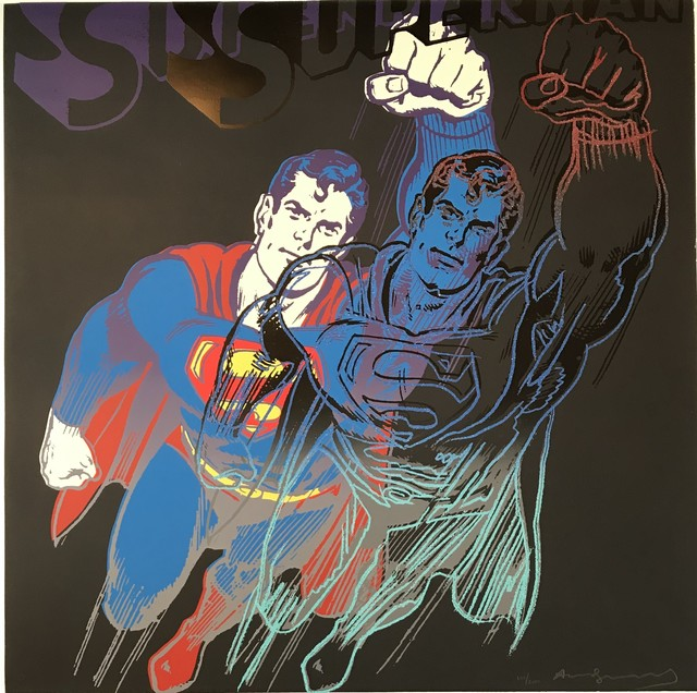 Andy Warhol, 'Superman from Myths 1981 F&S II.', 1981, Kings Wood Art