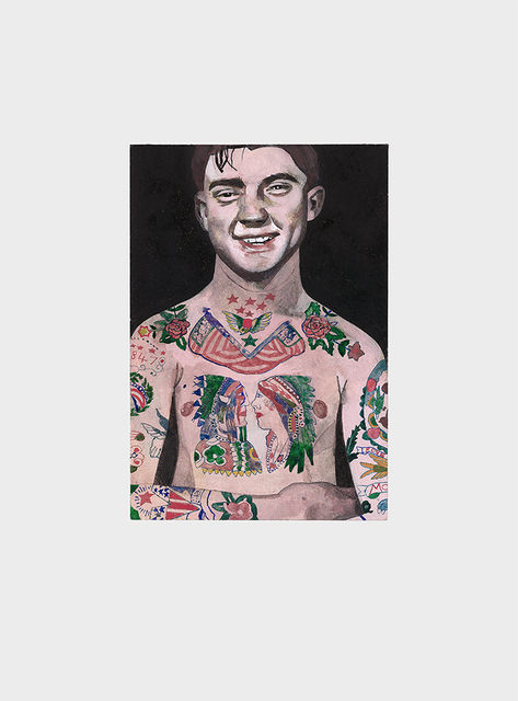 , 'Tattooed People, Percy,' 2015, Joanna Bryant & Julian Page