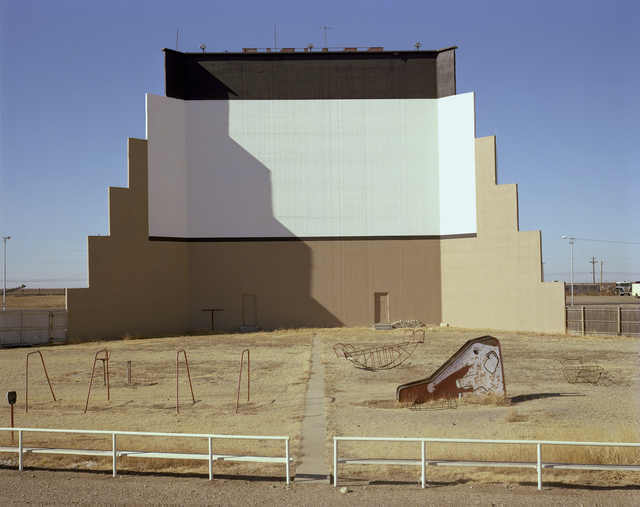 , 'Prairie Drive-in theater, Dumas, Texas, January 9, 1981,' , photo-eye Gallery