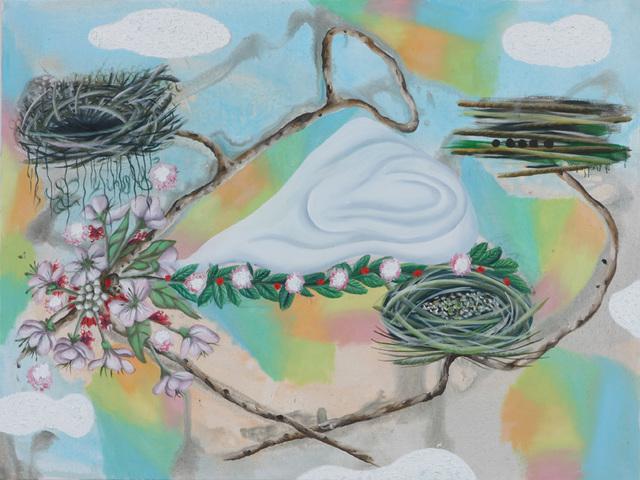 , 'Drei Nester,' 2008, Beck & Eggeling