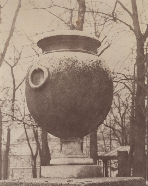 , 'Statuary urn, Luxembourg Gardens, Paris, 1865,' 1994, Galerie Andrea Caratsch