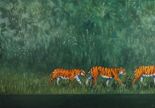 , 'A Streak of Tigers,' 2018, Jonathan Cooper