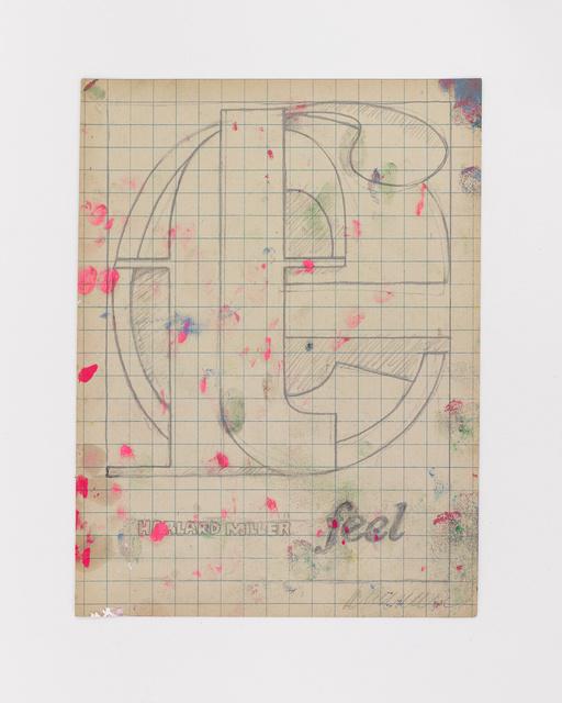 Harland Miller, 'FEEL', 2019, White Cube