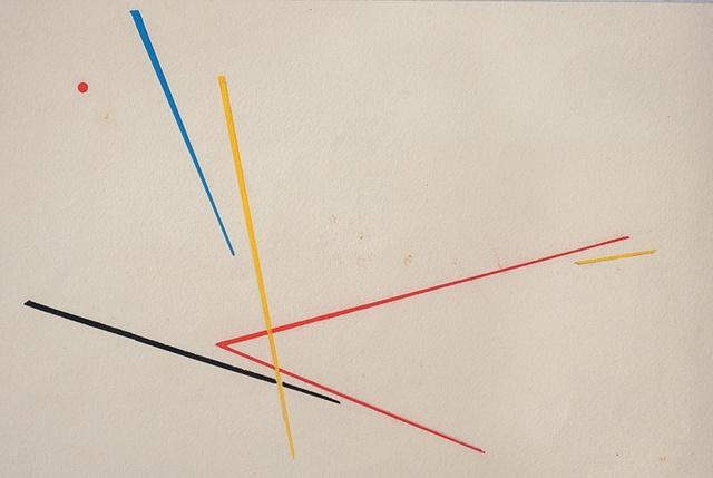 , 'Punto Rojo,' 1955, Galería de las Misiones