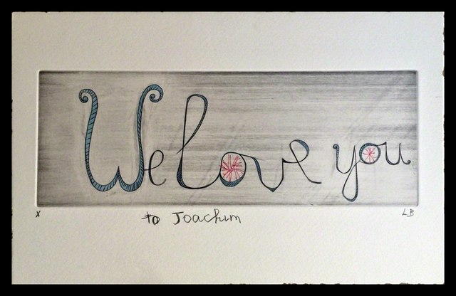 , 'We Love You,' 2000, Alpha 137 Gallery