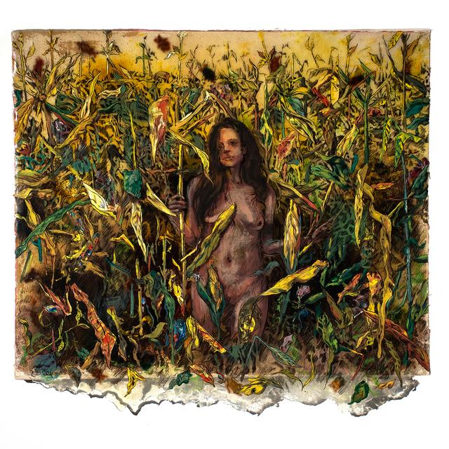 , 'Corn Maze,' 2015, Gallery Victor Armendariz