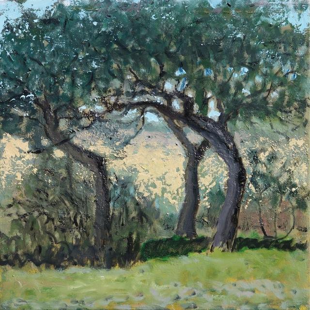 , '3 arbres,' , Hugo Galerie
