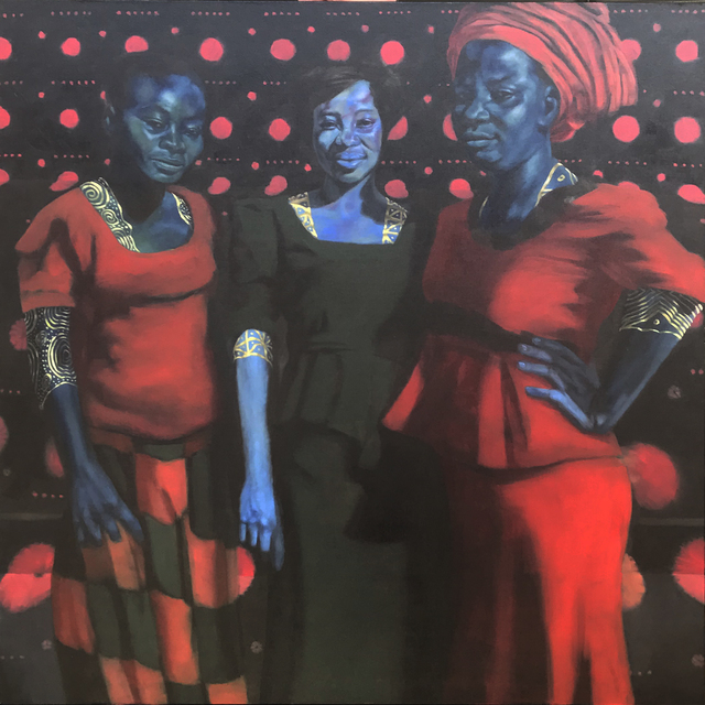 , 'Happy Sunday (Heritage, Mercy, Gladys),' 2018, Conduit Gallery