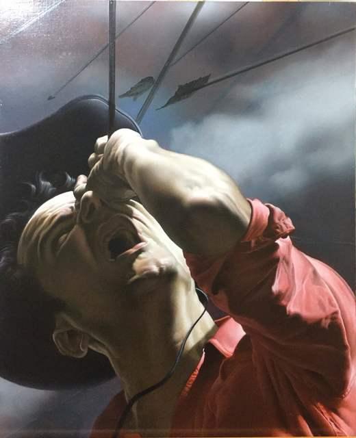 Nicola Verlato, 'UNDER ATTACK II, oil on wood panel, 50 x 40 cm, 2015', 2015, Isabel Croxatto Galería