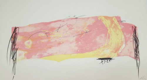 Antoni Tàpies, 'Nocturn matinal -8', 1970, Print, Lithograph, Kunzt Gallery