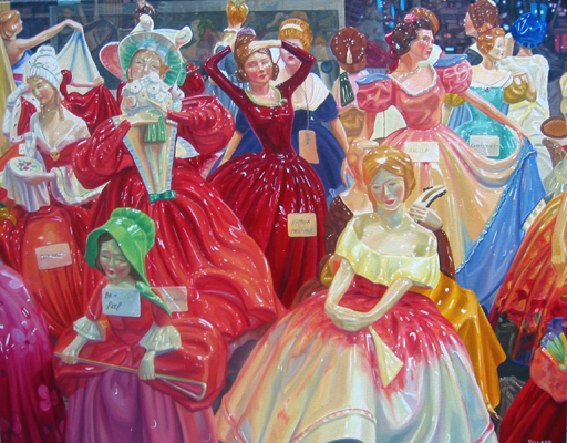 , 'Hen Party,' 2015, Madrona Gallery