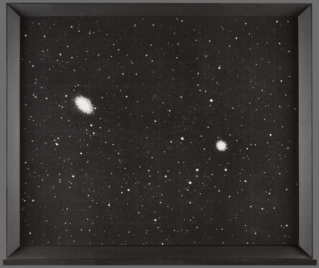 , 'Dust	 (NGC 1549 and NGC 1553, a galaxy pair in Dorado)	,' 2015, Arario Gallery