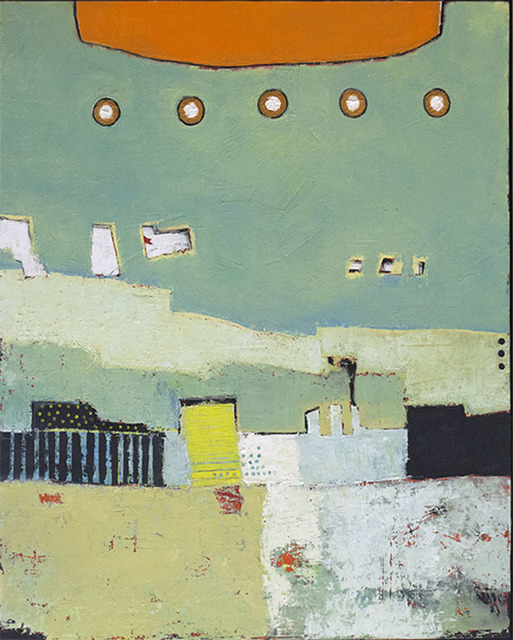 John McCaw, 'The Harbor', 2018, CODA Gallery