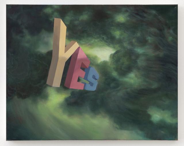 , 'YES,' 2019, Joshua Liner Gallery