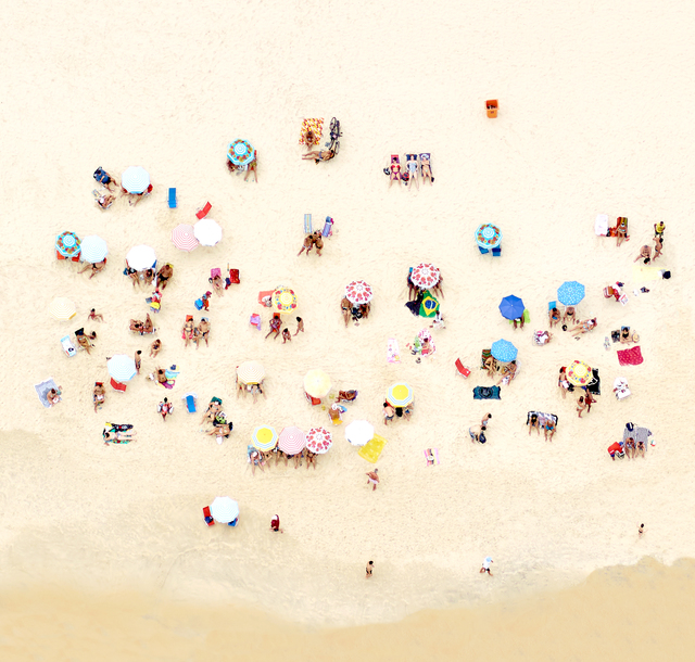 , 'Sunbathers of Copacabana II,' 2016, Newzones