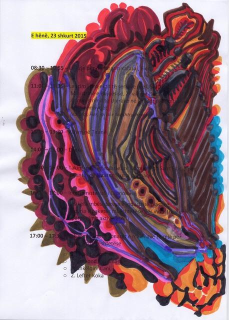 Edi Rama, 'February 23, 2015, (n. 7)', Alfonso Artiaco