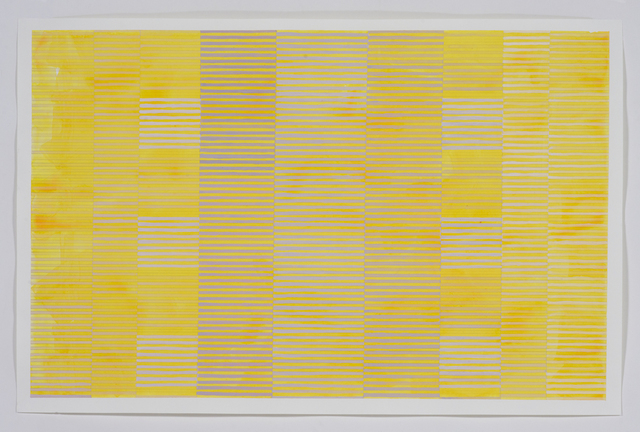 Melissa Casey, 'Gray Over Cadmium Yellow', 2018, Kopeikin Gallery