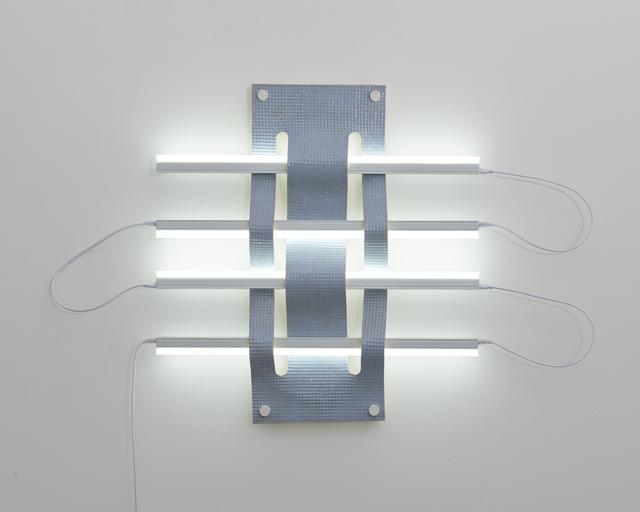 , 'Untitled (Light Weave No. 3 - light blue),' 2019, Eleanor Harwood Gallery