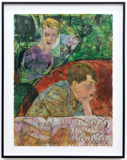 , 'Seeing the pattern in his behaviour,' 2017, Galerie Peter Kilchmann