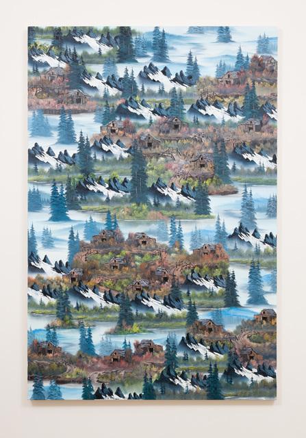 , 'Black Mist Mountain (Topanga Swirl),' 2016, Anat Ebgi