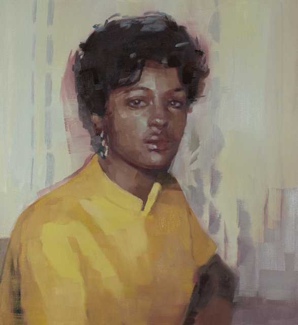 , 'Woman in Yellow,' 2018, Kopeikin Gallery