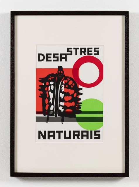 , 'O nome do medo (recorte): Desastres naturais / The Name of Fear (cut-out),' 2017, Stephen Friedman Gallery