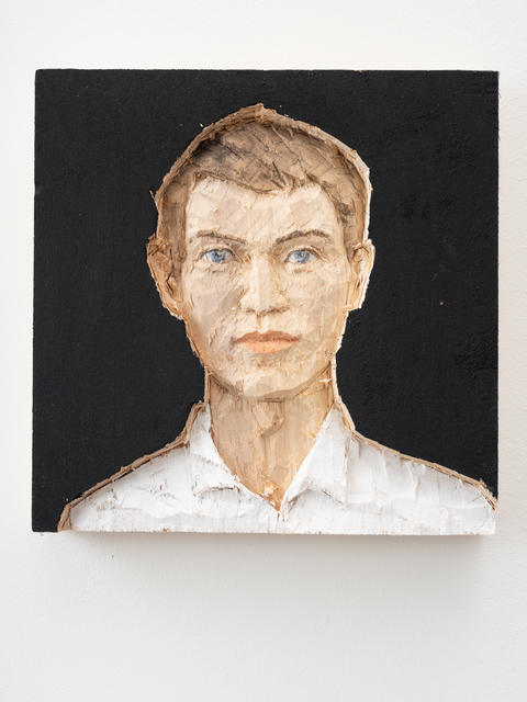 , 'Relief Man,' 2019, Galerie Forsblom