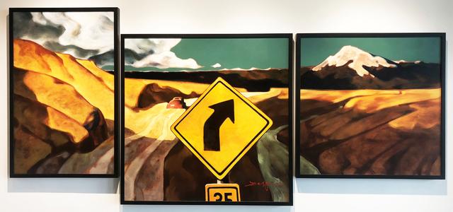 , 'Mountain Bound (Triptych),' 2018, Patricia Rovzar Gallery