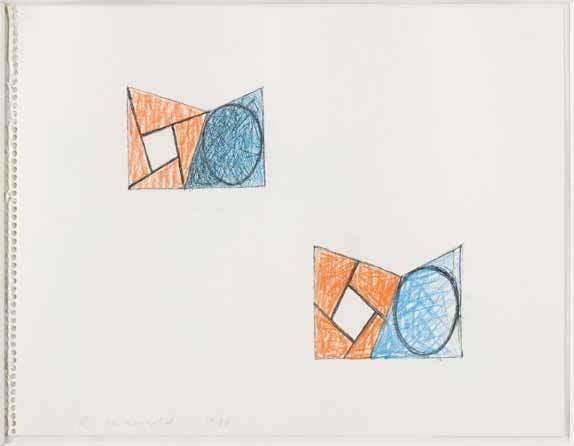 Robert Mangold (b.1937), 'Sketch', 1988, Pepe Cobo