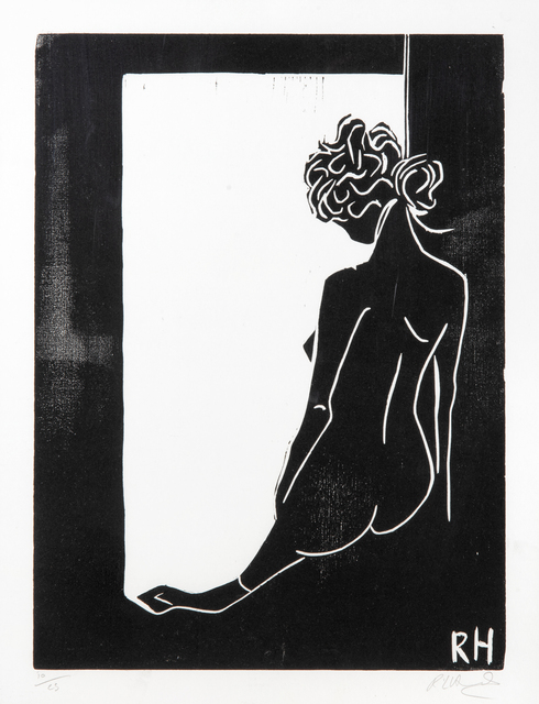 Rachel Howard, 'Still Life', 2016, Print, Woodcut print on paper, initialled to the block, Tate Ward Auctions