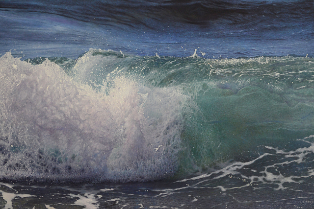 , 'Crashing Wave,' 2016, Plus One Gallery