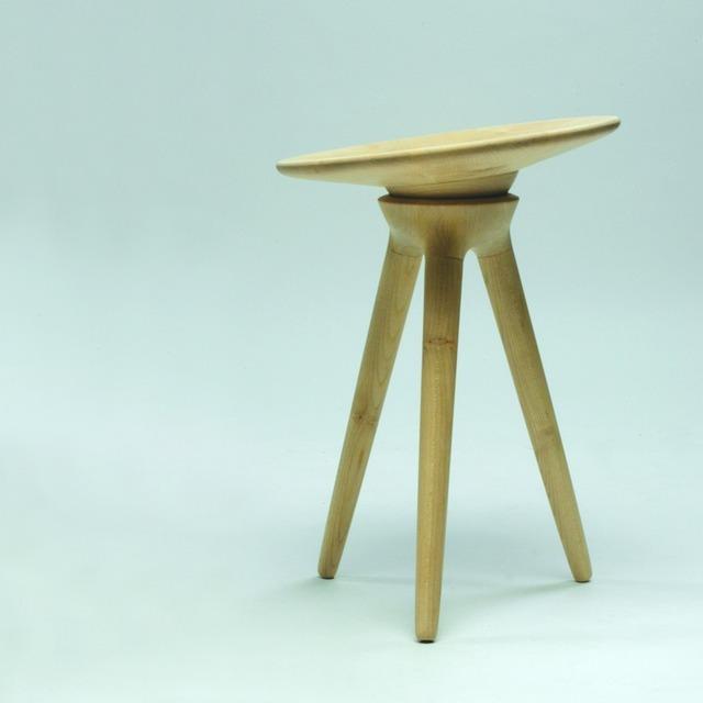 , 'Maple Stool,' 2004, Galerie Maria Wettergren