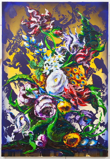 , 'taking over,' 2018, Lachenmann Art