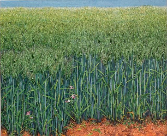 , 'Green Barley,' 1993, Baiksong Gallery