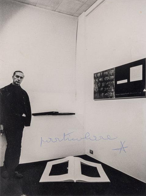 Vincenzo Agnetti, 'Particolare - Intervento di Agnetti su foto di Fabio Donato', 1978, Photography, ArtRite