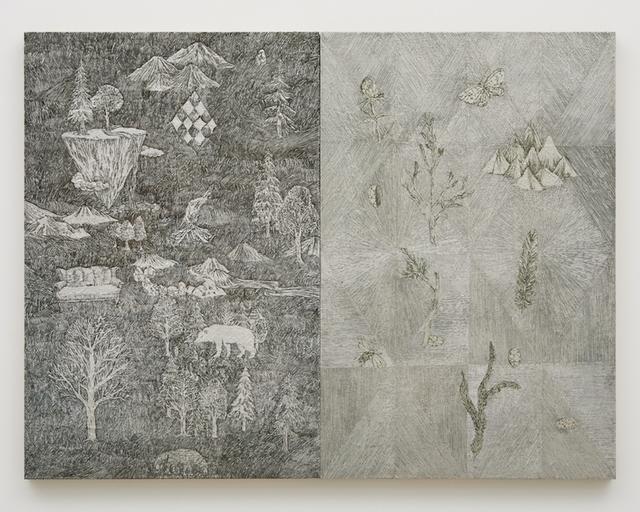 , '夜と昼の歌,' 2018, Tomio Koyama Gallery
