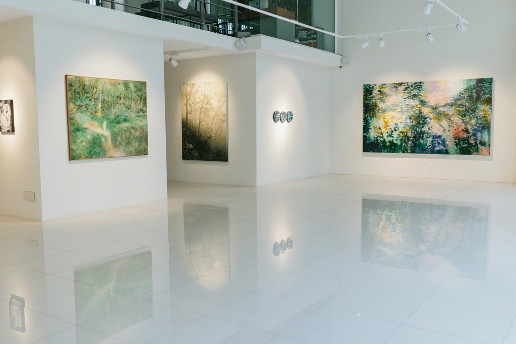 Barnard | New Romantics installation