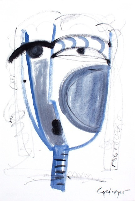 Lesley Grainger, 'Blue No. 1', 2017, Artspace Warehouse