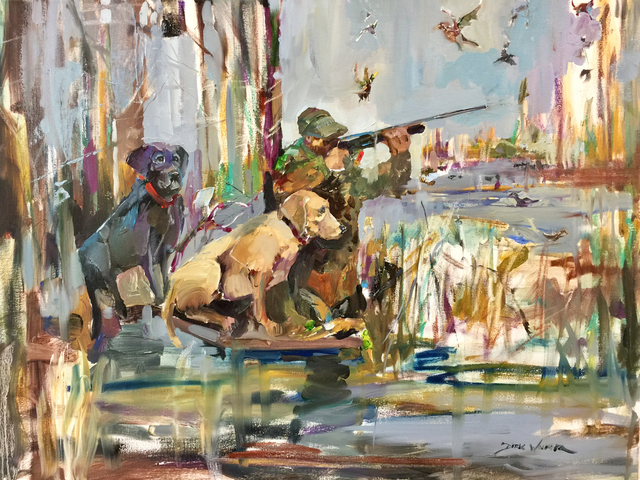 , 'Waiting His Turn,' , Beverly McNeil Gallery