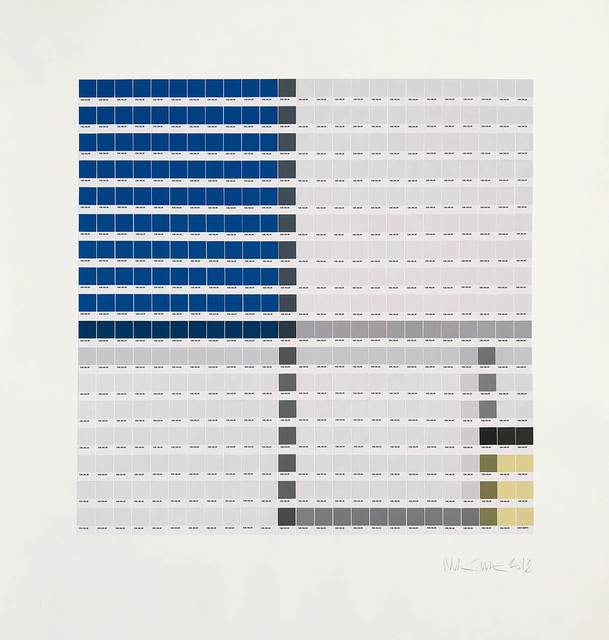 , 'Mondrian - Composition No. II,' 2018, Lawrence Alkin Gallery