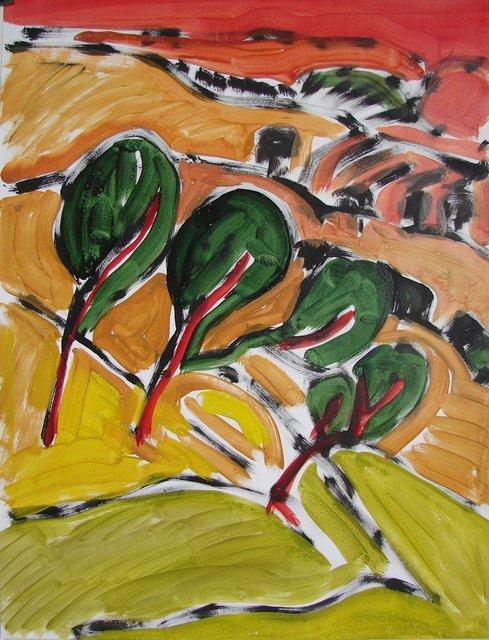 , 'Normandie arbres ,' 2000, Galerie Marie-Robin