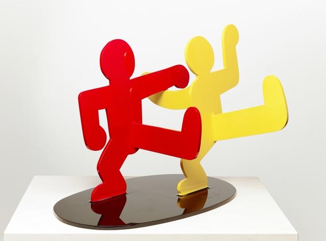 , 'Untitled (Two Dancing Figures),' 1989, Galerie Forsblom