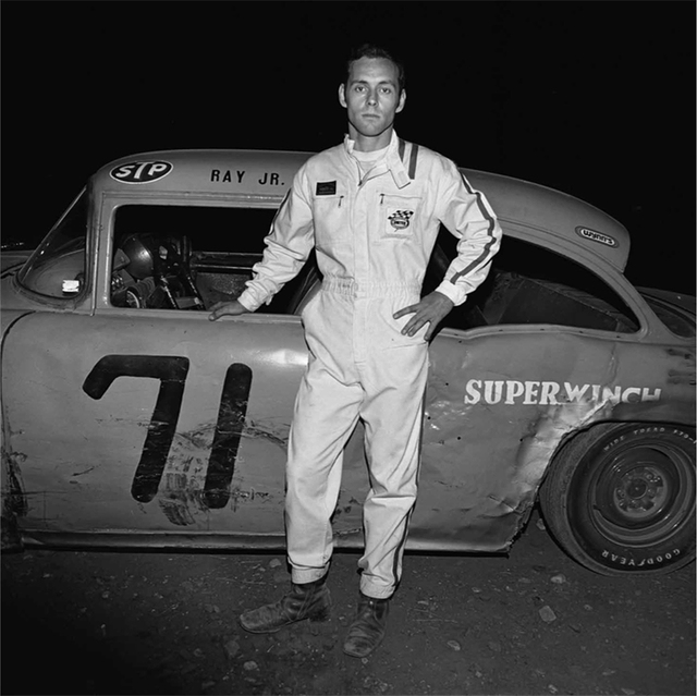 , 'Ray Jr. (Driver, Thompson Speedway, Thompson, CT),' 1972, ClampArt