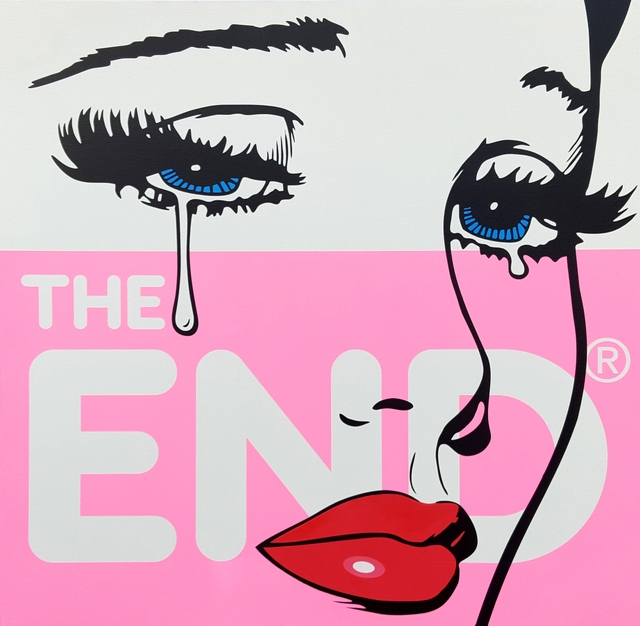 , 'The End,' 2017, StolenSpace Gallery