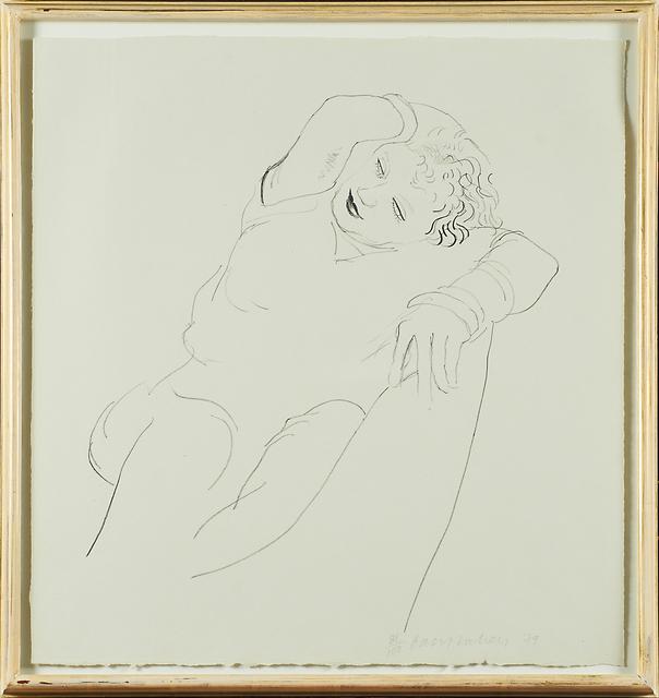 David Hockney, 'Celia Reclining', 1979, Rago/Wright