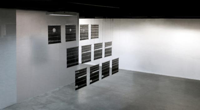 G. Roland Biermann, 'snow+concrete XIV, XV and XII ', 2012-2013, Galerie du Monde